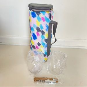 DSW wine chiller and tumbler set new